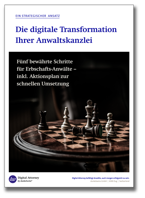 Whitepaper – Digitale Transformation für Anwaltskanzleien